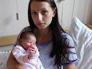 Eliška Šlechtová se narodila 13.9. (10.20) Pavle Kryštůfkové. Měřila 50 cm, vážila 3,05 kg.