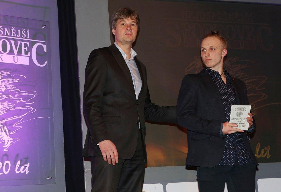 Vyhlášení výsledků ankety Nejúspěšnější sportovec roku 2017 v Ústí nad Labem.
