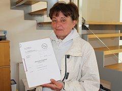 Irena Matějková z Roudníků na Ústecku naletěla podvodníkům, kteří jí slíbili půjčku.