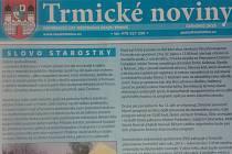 Většina měst a obcí Ústecka svoje noviny vydává. Například Trmice.