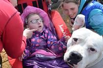 Ryjický ranč bavil handicapované děti.