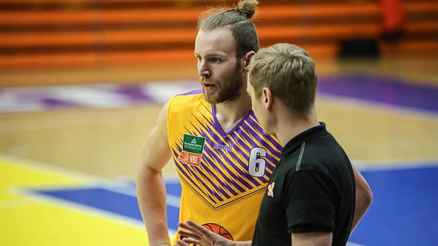 Nadstavba KNBL 2020/2021. Sluneta Ústí nad Labem - Tucker Haymond a Jan Šotnar