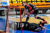 Florbal Ústí - Chomutov, I. liga 2019/2020, derby