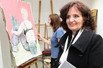 Miroslava Kopicová navštívila Univerzitu Jana Evangelista Purkyně.