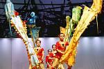 Show Čínského národního cirkusu nedala vydechnout asi třiceti akrobatům a akrobatkám, ale ani jejich publiku.