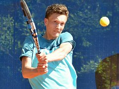 Turnaj mladých tenistů kategorie A1 v Ústí.