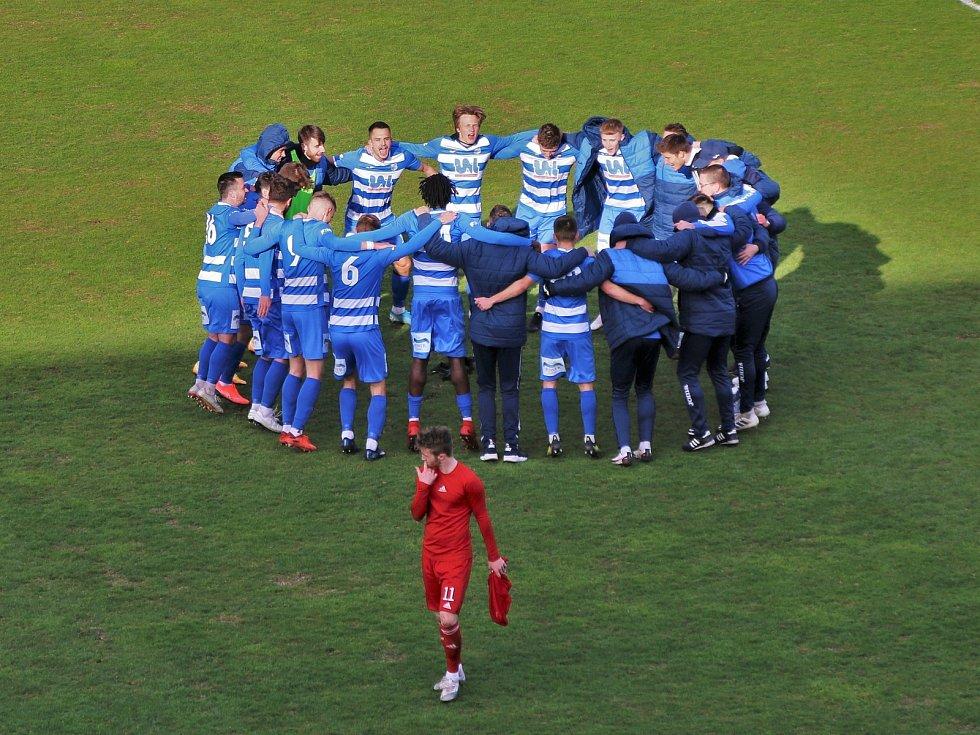 FK Ústí - Vyšehrad, FNL 2020/2021. Fotbalisté Ústí ilustrační