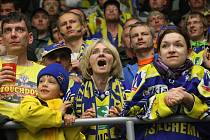 Fanoušci Ústeckých Lvů nezklamali. Fandili až do poslední chvíle 7. zápasu.