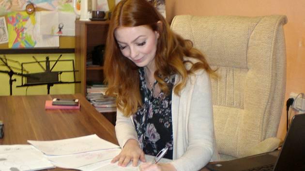 Alena Marie Berková, psycholožka ZŠ Velké Březno