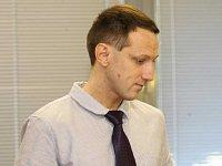 Obžalovaný bývalý novinář Martin Chlouba u ústeckého krajského soudu.