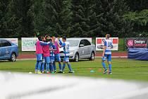 Sport fotbal FNL derby Varnsdorf Ústí nad Labem