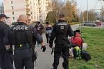 Ústečtí strážníci řešili popíjející skupinku v ulici SNP