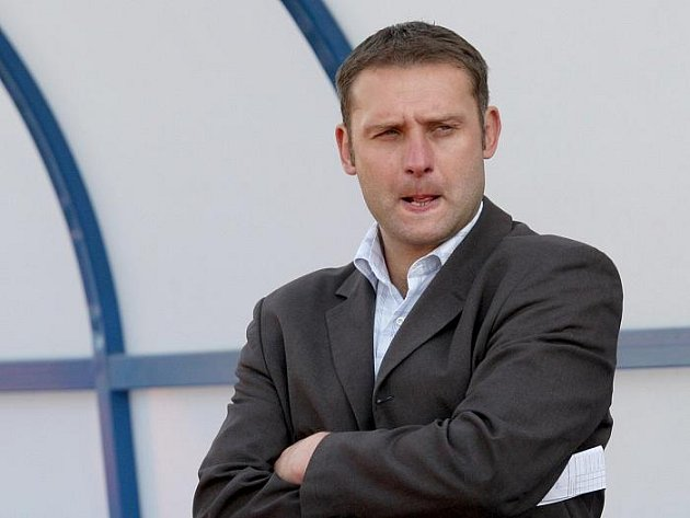 Trenér FK Ústí Svatopluk Habanec