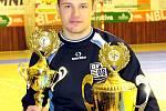 Brankář vítězů Dominik Valenta.