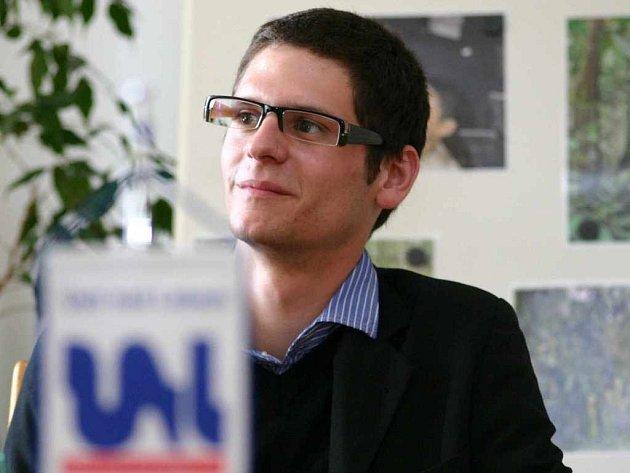 Člen budoucího výzkumného týmu projektu rezervace David Gwozdziewicz