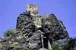 Kamýk: zřícenina hradu s krásnými výhledy.