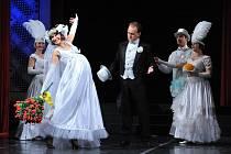 """Aby revuální star Fanny Briceová ve 20. letech v USA zaujala, bavila skvělými pěveckými čísly i bláznivými kousky. Třeba """"postavila na hlavu"""" dojemný svatební song."""