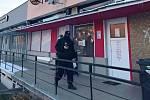 Strážníci kontrolovali otevřený podnik v ústecké ulici SNP