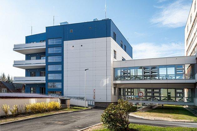 Pavilon intenzivní medicíny v jablonecké nemocnici