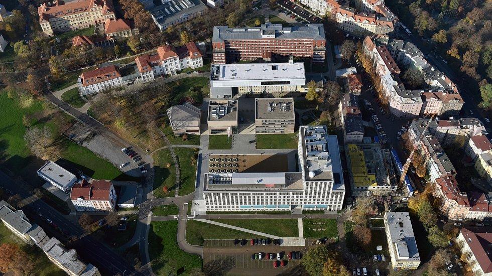 Kampus Univerzity Jana Evangelisty Purkyně v Ústí nad Labem.