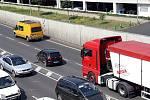Nehoda ochromila dopravu v Přístavní ulici v Ústí nad Labem
