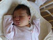 Emma Zabloudilová se narodila 19.9. (11.55) Editě Zabloudilové. Měřila 52 cm, vážila 3,85 kg.