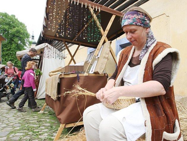 Májový jarmark v Zubrnicích.
