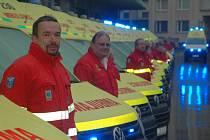 ZÁCHRANÁŘI představili nových 24 sanitních vozů.