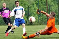 K nejvýraznějším hráčům Přestanova v uplynulé sezoně patřil brankář Staněk.