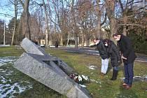 Uctění památky obětí holocaustu v Ústí nad Labem