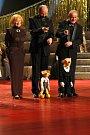 Poprvé byli oceněni i dřevění herci, Divadlo Spejbla a Hurvínka.