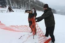 V Malečově vrcholí přípravy na lyžařskou sezonu.