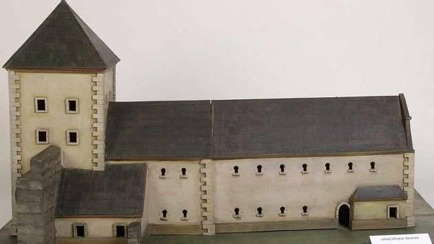 Model Hrnčířské brány