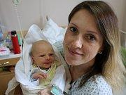 Matěj Macháček se narodil v ústecké porodnici 8. 5. 2017 (6.08) Kateřině Macháčkové. Měřil 50 cm, vážil 3,65 kg.