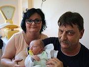 Jakub Suchý se narodil v ústecké porodnici 16. 5. 2017 (4.10) Lucii Suché. Měřil 51 cm, vážil 4,00 kg.