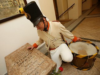 V Městském muzeu odhalili pamětní desku dragouna Friedricha Jordana.