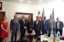 Chargé d´Affaires velvyslanectví USA Jennifer Bachus navštívila Ústí nad Labem.