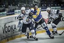 Série mezi hokejisty Kladna a Ústí bude pokračovat na ledě Rytířů.