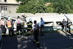 Ve Vaňově vykolejil osobní vlak CityElefant.