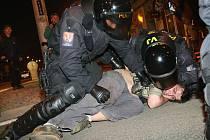 Poslední velký pochod město zažilo v roce 2009.  Zasahovat tehdy musela i policie.