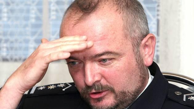 Jiří Ušák, vedoucí odboru dopravní policie Ústeckého kraje.
