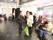 Osvětová akce Česká pošta a OC Forum proti melanomu.