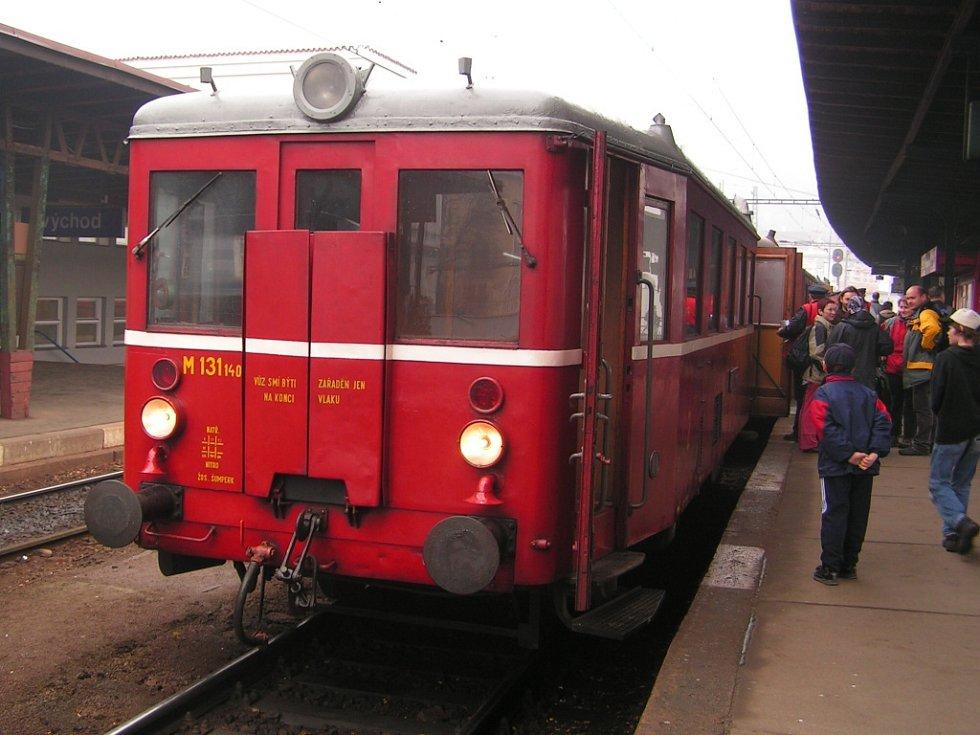 Lokomotivy a hnací vozidla mají svá jména - Hurvínek.