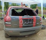 Čtvrým dílem pokračoval v sobotu sedmidílný autocrossový seriál Autopoint Cup na dráze v Chabařovicích.