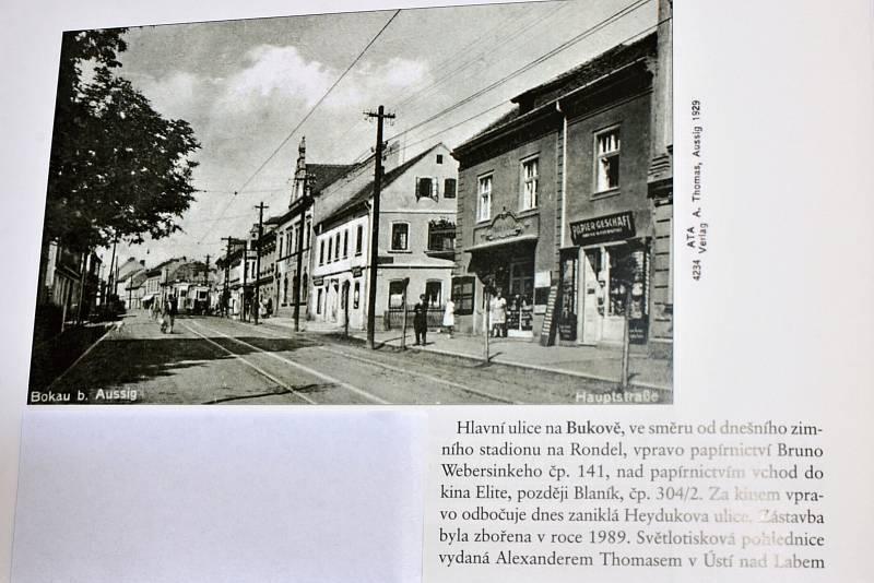 Po stopách starých pohlednic. Tentokrát je to Bukov.