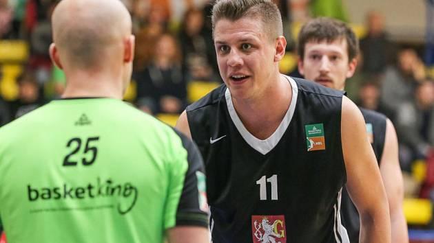 Jan Jiřiček v dresu Hradce Králové v Ústí nad Labem. Foto: Karel Dvořáček/Sporty Ústí