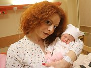 Mia Švadleňáková se narodila Barboře Švadleňákové z Ústí nad Labem 10.ledna v 8.22 hod. v ústecké porodnici. Měřena nebyla, vážila 2,98 kg