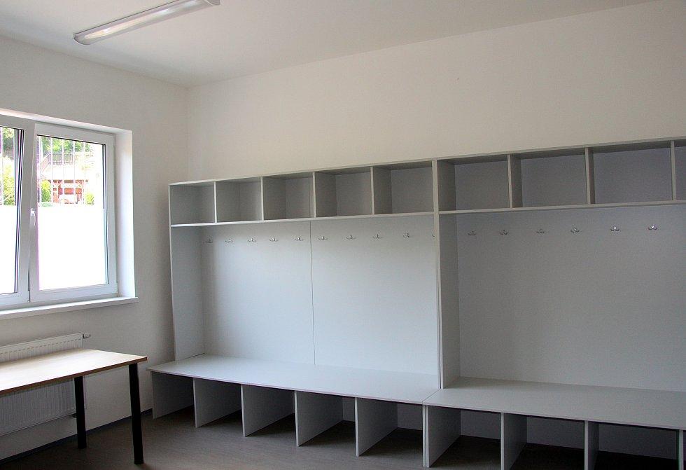 Nové prostory a zázemí TJ Mojžíř