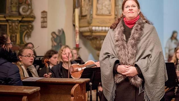 Oslava 100 let republiky, koncert v kostele Sv. Anny v Tisé