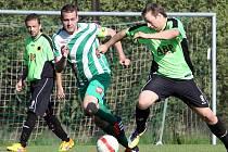 Fotbalisté Libouchce (uprostřed Hammer) obsadili v 1.A třídě šesté místo.